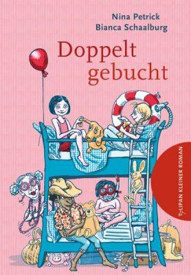 Buchcover-Nina-Petrick-Doppelt-gebucht-Tulipan-Verlag